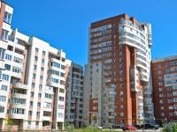 Пермь, улица Уинская, дом 1Б. многоквартирный дом