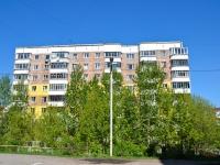 Пермь, улица Юрша, дом 7. многоквартирный дом