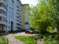 Perm, Yursha st, house 21. Apartment house