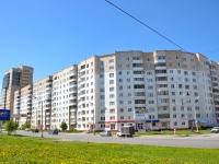 Пермь, улица Юрша, дом 25. многоквартирный дом