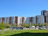 Пермь, улица Юрша, дом 56. многоквартирный дом