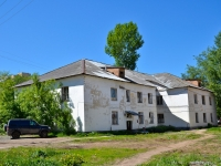 Perm, Yursha st, house 88. vacant building