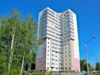 Пермь, улица Малкова, дом 21. многоквартирный дом