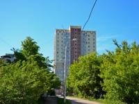Пермь, улица Малкова, дом 28. многоквартирный дом