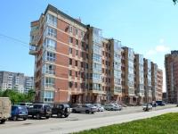 Пермь, улица Аркадия Гайдара, дом 3. жилой дом с магазином