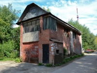 Пермь, улица Студенческая. неиспользуемое здание