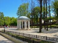 Пермь, улица Мостовая. малая архитектурная форма Ротонда