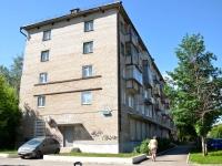 Perm, Poliny Osipenko st, house 44. Apartment house