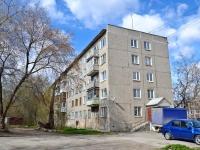 Пермь, улица Танкистов, дом 35. многоквартирный дом