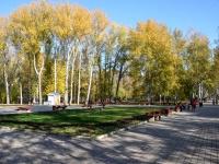 Пермь, улица Снайперов. сквер им. Миндовского