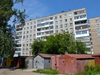 Perm, Zhelyabov st, house 15. Apartment house