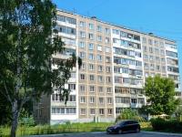 Пермь, улица Комиссара Пожарского, дом 11. многоквартирный дом
