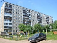 Пермь, улица Комиссара Пожарского, дом 12. многоквартирный дом