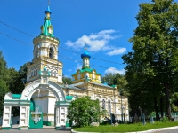 Пермь, церковь УСПЕНИЯ БОЖИЕЙ МАТЕРИ, улица Парковая, дом 18