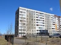 Пермь, улица Строителей, дом 12. многоквартирный дом