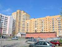 Пермь, улица Барамзиной, дом 42/2. многоквартирный дом