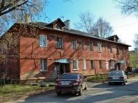 Пермь, улица Беляева, дом 22. многоквартирный дом