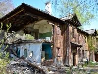 Пермь, улица Герцена, дом 8. аварийное здание