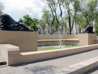 顿河畔罗斯托夫市, Sokolov st, 喷泉