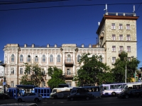 Rostov-on-Don, Oborony st, house 107. Apartment house