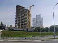 Ростов-на-Дону, улица Красноармейская, дом 16. строящееся здание