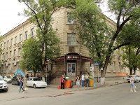 Rostov-on-Don, Moskovskaya st, house 63. Apartment house with a store on the ground-floor