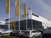 顿河畔罗斯托夫市, 汽车销售中心 Renault, автоцентр, группа компаний ААА моторс, Tekuchev st, 房屋 352А