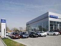 顿河畔罗斯托夫市, 汽车销售中心 Hyundai, автоцентр, группа компаний ААА моторс, Tekuchev st, 房屋 352Б