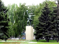 Rostov-on-Don, Sholokhov avenue, sculpture