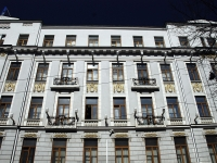 Rostov-on-Don, Suvorov st, house 17. Apartment house