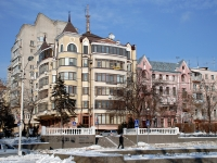 Rostov-on-Don, Soborny alley, house 32. Apartment house