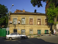 Rostov-on-Don, Gazetny alley, house 9. Apartment house