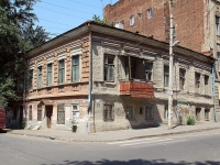 Rostov-on-Don, Gazetny alley, house 38. Apartment house