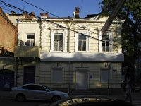 Rostov-on-Don, Gazetny alley, house 40. Apartment house