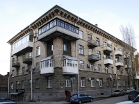 Rostov-on-Don, Gazetny alley, house 56. Apartment house