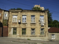 Rostov-on-Don, Krepostnoy alley, house 36. Apartment house