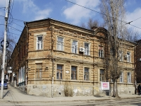 Rostov-on-Don, Krepostnoy alley, house 38. Apartment house