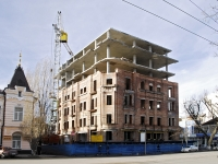 Rostov-on-Don, Serafimovich st, house 107. building under construction