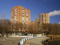 Ростов-на-Дону, улица Бориса Капустина, дом 10. многоквартирный дом