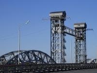 Rostov-on-Don, bridge ЖелезнодорожныйPoymennaya st, bridge Железнодорожный