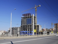 Rostov-on-Don, avenue Sivers, house 2. building under construction