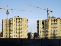 Rostov-on-Don, Rikhard Zorge st, house 19В. building under construction