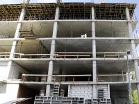 Rostov-on-Don, st Zakrutkin, house 1. building under construction