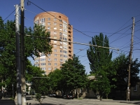 Rostov-on-Don, Zakrutkin st, house 2. Apartment house