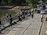 Rostov-on-Don, bridge ПонтонныйOstrovnaya st, bridge Понтонный