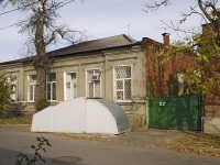 Rostov-on-Don, st 36th Liniya, house 27. Private house