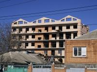 Rostov-on-Don, alley Zhlobinsky, house 4. building under construction