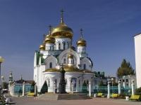 площадь Андрея Первозванного, дом 1. храм Святой Троицы