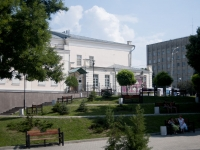 улица Греческая. сквер Театральный