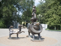 Taganrog, sculpture composition по мотивам